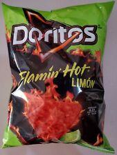 NEW Doritos Flamin' Hot Limon Nacho Corn Chip Snacks 9.75 oz FREE WORLD SHIPPING