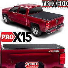 TruXedo Pro X15 Tonneau Roll Up Bed Cover for GM Silverado Sierra 1500 Short Bed
