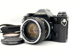 [N MINT] Canon AE-1 Program Camera Black w/ FD 50mm f1.4 Lens