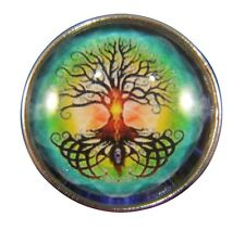 Noosa Style Chunks Snap Button Charms Ginger Snaps Charm Tree Of Life 20mm 074
