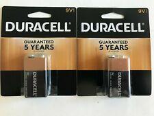 Duracell 9V Battery Alkaline CopperTop Batteries - 2 Pack