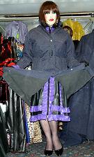 rare heavy rubber lined mackintosh raincoat hamilton & belt 50 chest TV 49 long