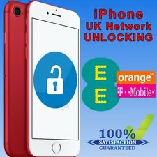 Factory Unlocking Service For iPhone 7, 7 Plus 8, 8 Plus - UK EE Orange Tmobile