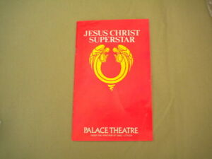 Programme for 'Jesus Christ Superstar' at the Palace Theatre, London, 1979