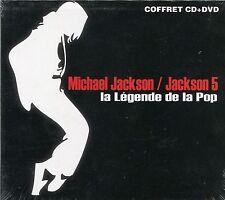 Michael Jackson & Jackson 5 : La Légende de la Pop (DVD + CD)