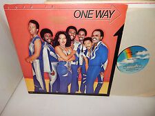 ONE WAY Love Is One Way PROMO 1980 MCA 5163 Soul Funk heavy weight vinyl LP Nice