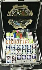 Mexican Train & Chicken Domino Set Professional Set of 91 And Double of 12