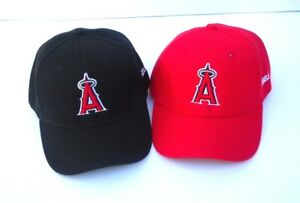 Los Angeles Angels of Anaheim Hat Cap Curved Bill Adjustable One Size New!!