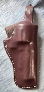 "TRIPLE K LEATHER HOLSTER - #196 S&W N FRAME - 4"" BARREL"