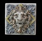 LION  LEO     ARTS   CRAFTS   GOTHIC ELLISON TILE