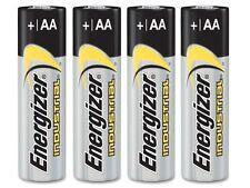 4 Pack Energizer Industrial Alkaline AA Batteries LR06 EN91 (Boxed) Exp.2023