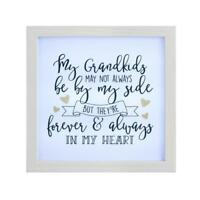 My Grandkids LED Light Up Mantle Plaque Love Gift  ATH017-HS