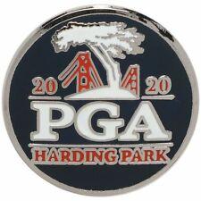 2020 PGA Championship (Harding Park) PLANO-AZUL MARINO-Marcador de Pelota de golf con el logotipo