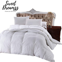 Luxury Hotel Quality Goose Feather & Down Soft Quilt Bed Duvet 13.5 TOG - Double