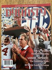 Lindy's Sports issue of The Battle For No. 1 Alabama 2013 Title game preview