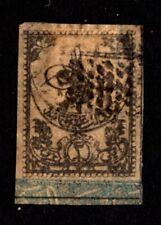 Turkey 1863 stamp Mi#Porto3a used CV=500€