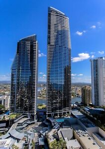 GOLD COAST ACCOMMODATION Circle Apartments 2 Bed + Study Ocean 7nts $1325 + Wifi