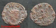 Romaine ! Antoninien de cuivre de GALLIEN revers VICTORIA AUG T