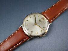Vintage Longines 10K Gold GF Hand Wind Luxury Mens Dress Watch 17j 280 1950s
