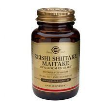 Solgar Hongo Reishi Shiitake Maitake extracto Vegetal Cápsulas 50