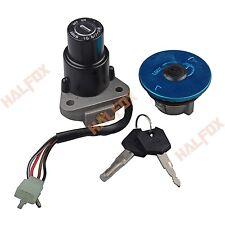 Ignition Switch Seat Gas Cap Lock Fit Yamaha FZR250 87-88 FZR400  FZR600
