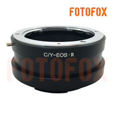 FOTOFOX adapter For C/Y CY Contax Yashica mount lens to Canon EOS R mount camera