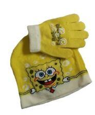 Spongebob Mütze und Handschuh Größe 52-54