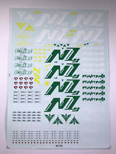 MG 1/100 NZ-666 Kshatriya Gundam New Ver Water Decal for Bandai Gundam Hobbies