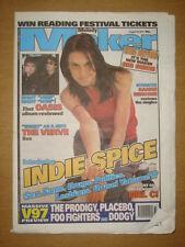 MELODY MAKER 1997 AUG 16 MEL C VERVE FOO FIGHTERS OASIS