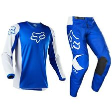 2020 Fox Racing 180 Motocross MX Bike Set Hose Trikot - Prix Blau