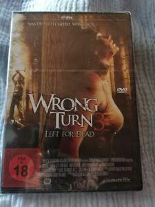 Wrong Turn 3 (Left for Dead) - DVD - Neu in Folie - FSK 18