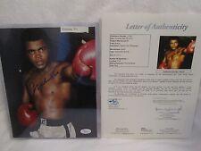 Muhammad Ali (D 2016) Autographed 8x10 Color Photo - Full JSA L.O.A.