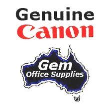 SET OF 5 GENUINE CANON PGI-520 BLACK & CLI-521 CYAN MAGENTA YELLOW & PHOTO BLACK