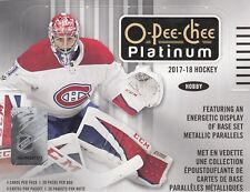OPC O-Pee-Chee PLATINUM 2017-18 Complete Master Set (1-200 + Inserts)