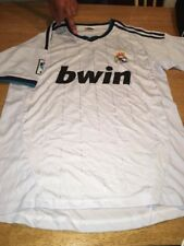 adidas Real Madrid Football Club White bwin Soccer Jersey Mens L