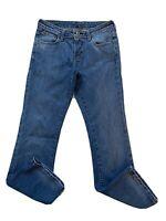 Ralph Lauren Women's Jeans Size 4 Bootcut Stretch Kelly Low Rise