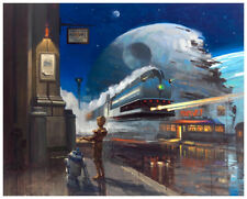 Star Wars The Droid's Discovery Giclee on Paper- David Tutwiler