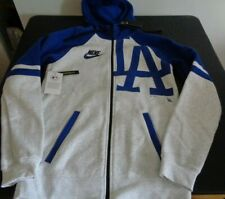 LOS ANGELES DODGERS Baseball NIKE Full Zip SMALL Hoodie Sweatshirt NEW Free Ship