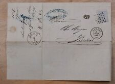 Mayfairstamps Belgium 1869 Anvers Folded Cover wwp72331