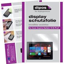 2x Acer Aspire Switch 10 E Pro7 Schutzfolie klar Displayschutzfolie Folie dipos
