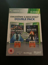 Crackdown & Mass Effect Double Pack XBOX 360 XBOX360 PAL