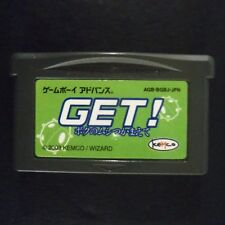 GET BOKU NO MUSHI TSUKAMAETE Game Boy Advance JAPAN・❀・Nintendo GBA KEMCO INSECT