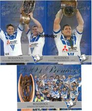 2004 SELECT NRL PREMIERS SET: CANTERBURY BULLDOGS #72/450 STEVE PRICE/RYAN/MASON