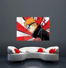 NARUTO ANIME MANGA RISING SUN FLAG JAPAN GIANT ART POSTER PRINT  WA426
