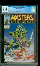 Masters of the Universe 10 CGC 9.4 NM He-Man Skeletor Marvel 1987