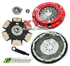 XTR STAGE 4 CLUTCH KIT+FIDANZA FLYWHEEL 93-02 MAZDA 626 MX-6 FORD PROBE GT 2.5L