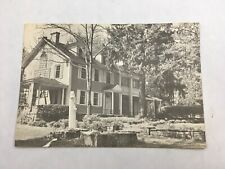 Boal Mansion Boalsburg Pennsylvania Vintage B&W Postcard Unposted