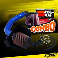 04-08 Ford F150 F-150 5.4L V8 Blue Cold Air Intake + K&N Air Filter
