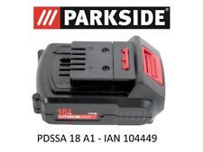 PARKSIDE Batterie 18 V 1,5ah PAP 18-1.5 a1 pour pdssa 18 a1 S.