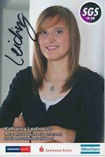 Katharina Leiding  SGS Essen  Frauen Fußball Autogrammkarte signiert 376199